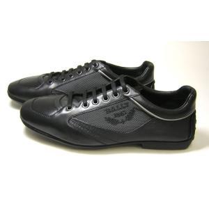 バリー スニーカー (ブラック) レザー ファブリック OLIVADO/00  8.5サイズ(日本サイズ約27.5cm)|piazza|03