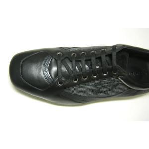バリー スニーカー (ブラック) レザー ファブリック OLIVADO/00  8.5サイズ(日本サイズ約27.5cm)|piazza|06