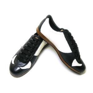 バリー スニーカー レザー (ブラック) 10(日本サイズ約29cm) YOSHUA/00 靴|piazza