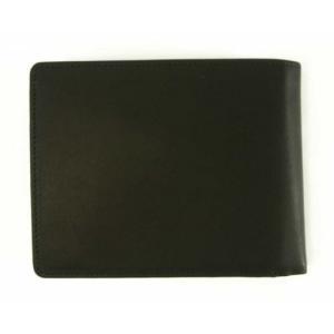 ブリー 財布 メンズ 三つ開き ブラック 黒 Oxford 112 ポケット17枚 piazza 02