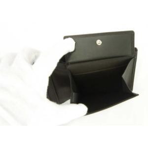 ブリー 財布 メンズ 三つ開き ブラック 黒 Oxford 112 ポケット17枚 piazza 06