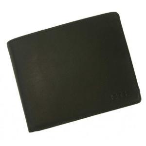 ブリー 財布 メンズ 三つ開き ブラック 黒 Oxford 112 ポケット17枚 piazza 08