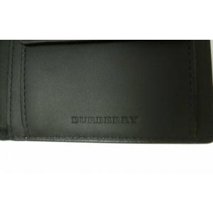 バーバリー 財布 メンズ 二つ折 ロンドンチェック|piazza|04