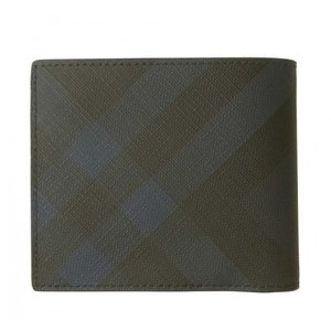 バーバリー 財布 メンズ 二つ折 ロンドンチェック|piazza|02