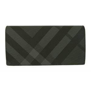 バーバリー 長財布 メンズ カード大容量 二つ折り ロンドンチェック|piazza|02