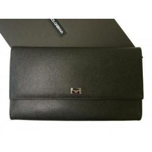 ドルガバ 財布 ミニクラッチ トラベル ドキュメントケース *ラージサイズ(横約25 cm) piazza