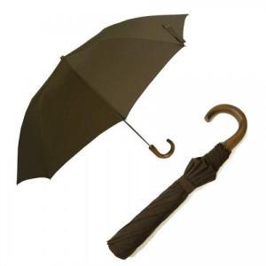 フォックスアンブレラズ  <訳あり・アウトレット>傘 折り畳み メンズ TEL1 アンブレラ ブラウン  Style10本骨 *ラッピング不可(*通常包装のみ)|piazza