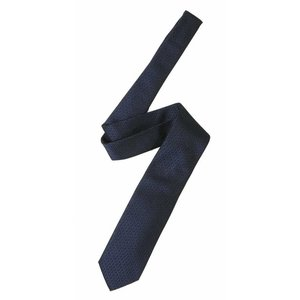 ヒューゴボス ネクタイ シルク ブラック×ブルー イタリア製 7.5CM|piazza|04