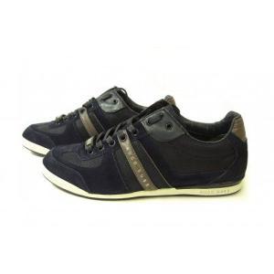 ヒューゴボス スニーカー  靴 シューズ キャンバス レザー BOSS GREEN AKEEN|piazza|02