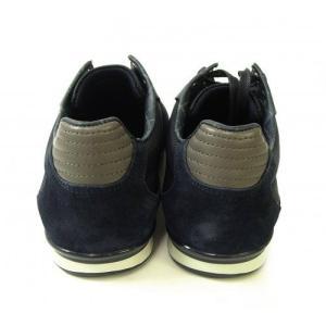 ヒューゴボス スニーカー  靴 シューズ キャンバス レザー BOSS GREEN AKEEN|piazza|03