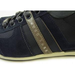 ヒューゴボス スニーカー  靴 シューズ キャンバス レザー BOSS GREEN AKEEN|piazza|05