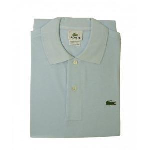 ラコステ ポロシャツ (サックスブルー) 2(XXS)サイズ|piazza