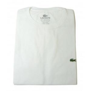 ラコステ Tシャツ ピマ・コットン (ホワイト) 2(XXS)サイズ|piazza