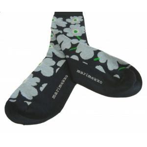 マリメッコ 靴下 ソックス ウニッコ Hieta Pieni Unikko Salla Logo 3足組|piazza|04