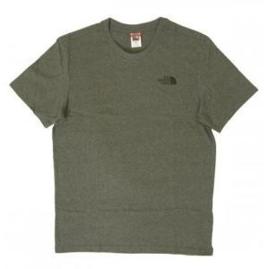 ザノースフェイス Tシャツ メンズ コットン 綿 Simple Doe Te piazza