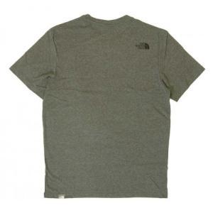 ザノースフェイス Tシャツ メンズ コットン 綿 Simple Doe Te piazza 02