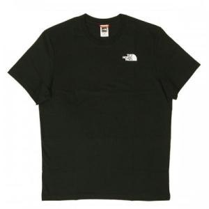 ザノースフェイス Tシャツ メンズ ブラック 黒 綿 レッドボックス Redbox Cel Te piazza