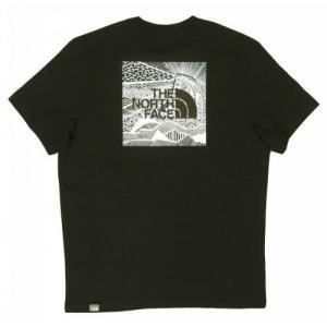 ザノースフェイス Tシャツ メンズ ブラック 黒 綿 レッドボックス Redbox Cel Te piazza 02