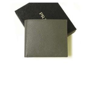 プラダ 財布 サフィアノレザー 二つ折|piazza