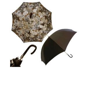 パソッティ 傘 かさ レディース アンブレラ ダークブラウン  Style 189|piazza