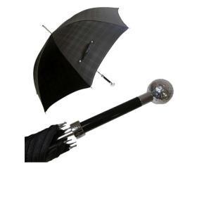 パソッティ かさ メンズ 傘 ブラック ゴルフボール ハンドル Style 478|piazza