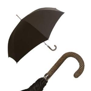 パソッティ メンズ 傘 かさ アンブレラ ダークブラウン Style 478|piazza