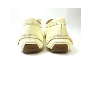 プラダ 靴 レディース レザーシューズ (36サイズ) 約23cm|piazza|05