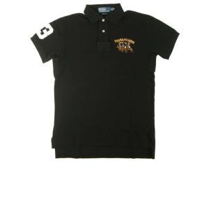 ポロラルフローレン ポロシャツ ビッグポニー コットン (ポロブラック) Sサイズ|piazza
