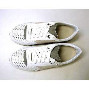 フェラガモ スニーカー 靴 メンズ パンチング レザー TERENCE (ホワイト) 8.5(日本サイズ約27cm) piazza 02