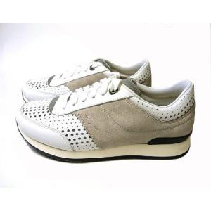 フェラガモ スニーカー 靴 メンズ パンチング レザー TERENCE (ホワイト) 8.5(日本サイズ約27cm) piazza 03