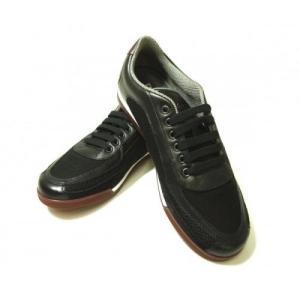 フェラガモ スニーカー 靴 メンズ メッシュ ファブリック PORTOS (ブラック) 7.5(日本サイズ約26cm)|piazza