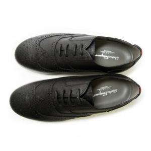 フェラガモ スニーカー 靴 メンズ レザー MARLOW レースアップ ブローグデザイン piazza 02