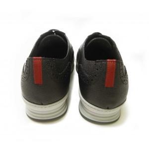 フェラガモ スニーカー 靴 メンズ レザー MARLOW レースアップ ブローグデザイン piazza 04