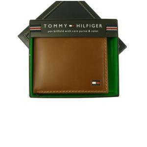 トミーヒルフィガー 財布 メンズ 二つ折 piazza