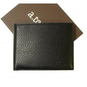 テストーニ 財布 ディアスキン メンズ 二つ折|piazza