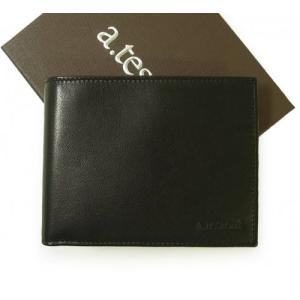 テストーニ 財布 メンズ 二つ折 ナッパカーフ レザー|piazza