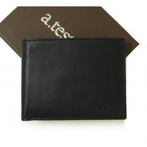 テストーニ 財布 メンズ 二つ折|piazza