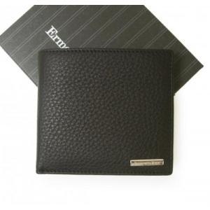 ゼニア 財布 メンズ 二つ折り ソフト グレイン レザー piazza