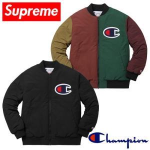SUPREME×Champion カラーブロックジャケット 2017FW 取寄品 piccola