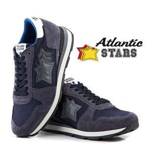 【取寄品】★Atlantic STARS★ スニーカー /SIRIUS ANTRACITE NAVY|piccola