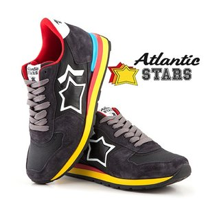 【取寄品】★Atlantic STARS★ スニーカー /ANTARES ANTRACITE BLACK|piccola