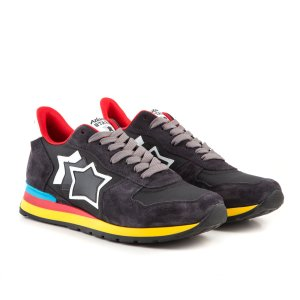 【取寄品】★Atlantic STARS★ スニーカー /ANTARES ANTRACITE BLACK|piccola|03