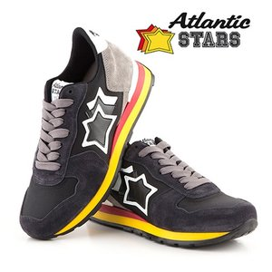 【取寄品】★Atlantic STARS★ レディーススニーカー/VEGA ANTRACITE BLACK|piccola