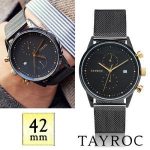 【取寄品】★TAYROC★ Boundless TXM087 クロノグラフ腕時計|piccola