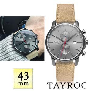 【取寄品】★TAYROC★ Iconic TXM093 クロノグラフ腕時計|piccola