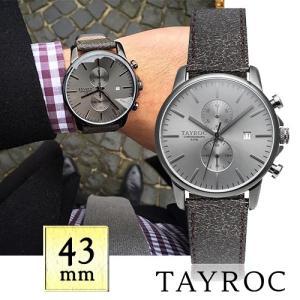 【取寄品】★TAYROC★ Iconic TXM092 クロノグラフ腕時計|piccola