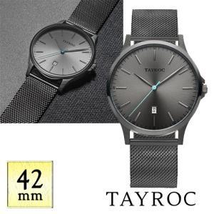【取寄品】★TAYROC★ The Classic TXM107 ガンメタルバンド 腕時計|piccola