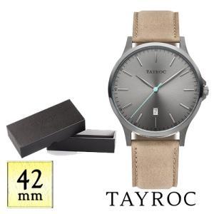 【取寄品】★TAYROC★TheClassic TXM101 サンドレザーバンド 腕時計|piccola