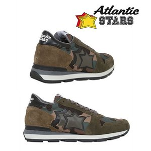 【取寄品】★Atlantic STARS★ スエードスニーカー/ Black&Camo|piccola