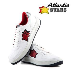 【取寄品】★Atlantic STARS★スニーカー /RIGEL WHITE RED BOTTOM/送料関税込 piccola